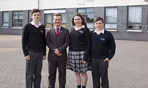 Students 6 at Creagh College, Gorey, County Wexford