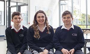 Students 5 at Creagh College, Gorey, County Wexford