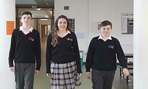 Students 4 at Creagh College, Gorey, County Wexford