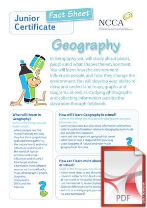 Geography at Creagh College, Gorey, County Wexford