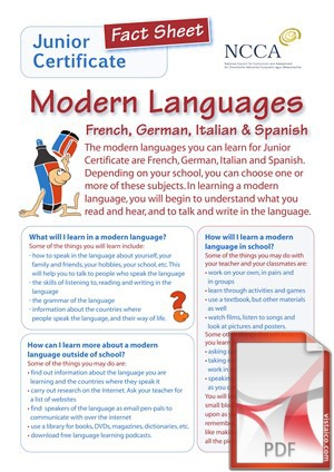 French, Spanish Language at Creagh College, Gorey, County Wexford,
