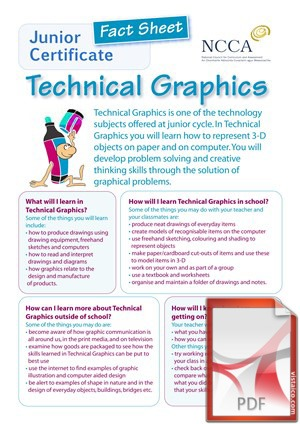 Technical Graphics at Creagh College, Gorey, County Wexford