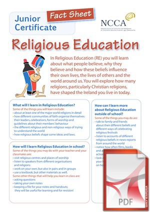 Religious Education at Creagh College, Gorey, County Wexford