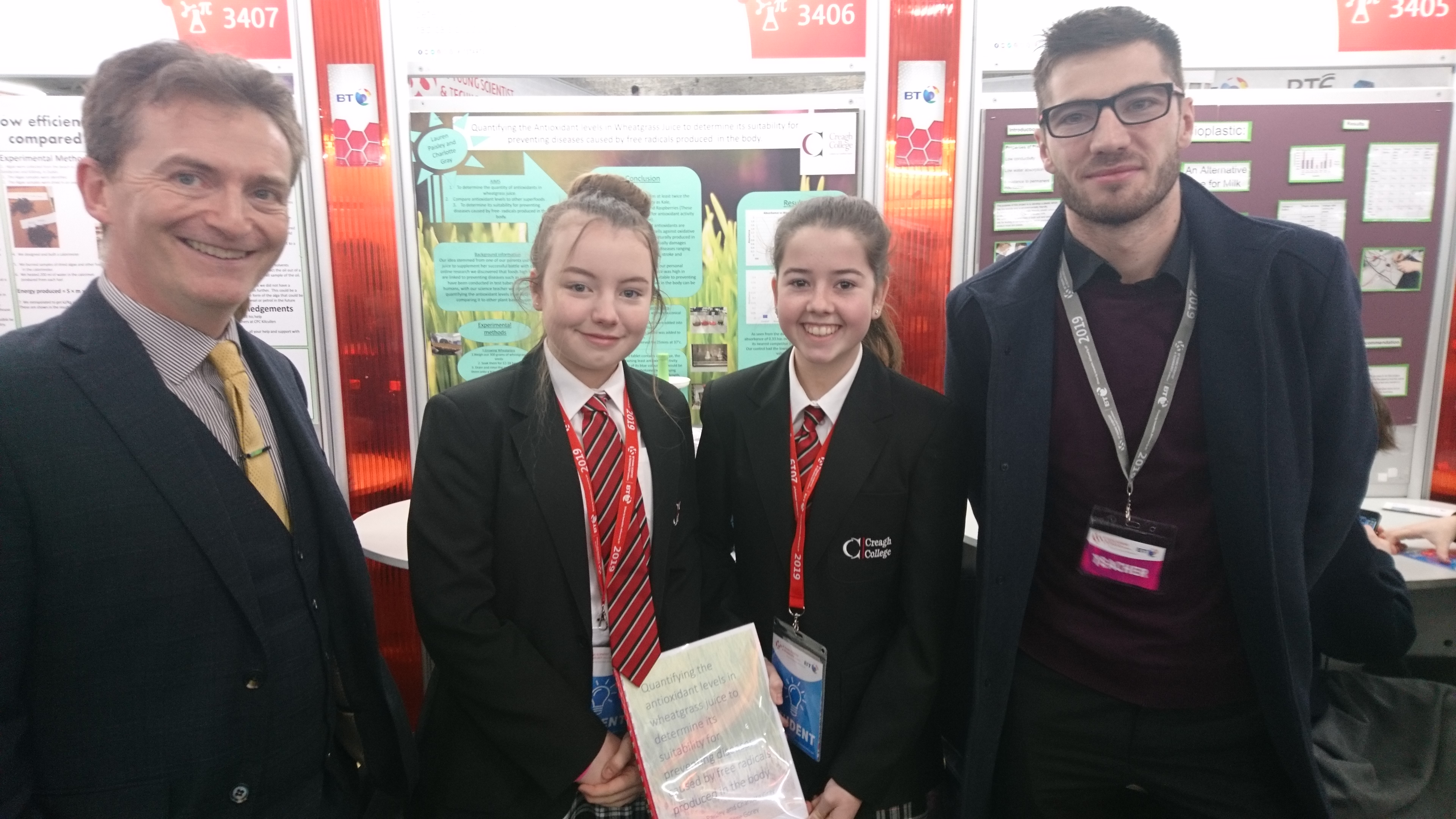 Success at The BT Young Scientist